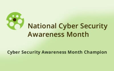 Cyber Security Awareness Month Champion
