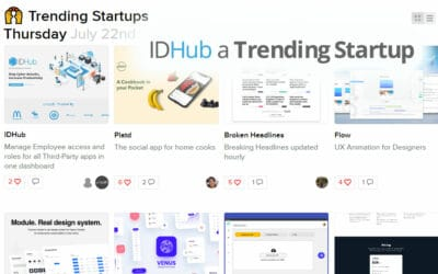 IDHub Listed As a Trending Startup
